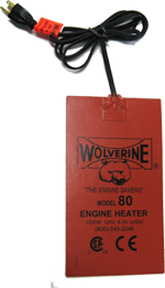 Wolverine Oil Pan Heater Model 80 1000 Watts