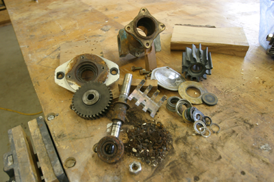 Exploded Sherwood Pump