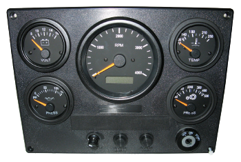 Analog Marine Instrument Panels