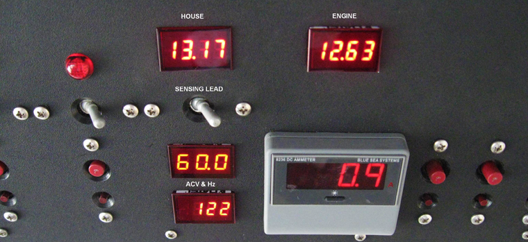 SMX Marine Self-Powered DC Voltage Monitors