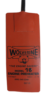 Wolverine Oil Pan Heater Model 18 250 Watts