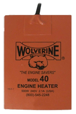 Wolverine Oil Pan Heater Model 40 500 Watts