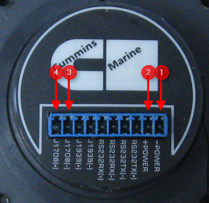 Mark the wires according to the pin assignments on the back of the display before removing.
