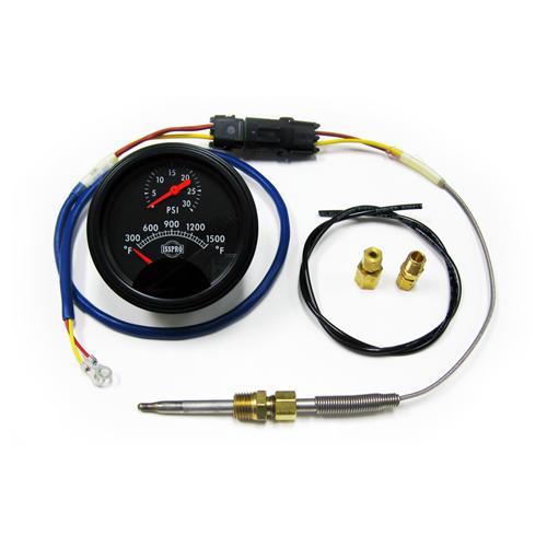 SMX Marine Boost & Pyro Gauge Kit on