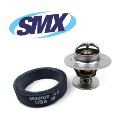 Exclusive SMX Hi-Flow 160°F Thermostat Kit for Cummins B Series Engine