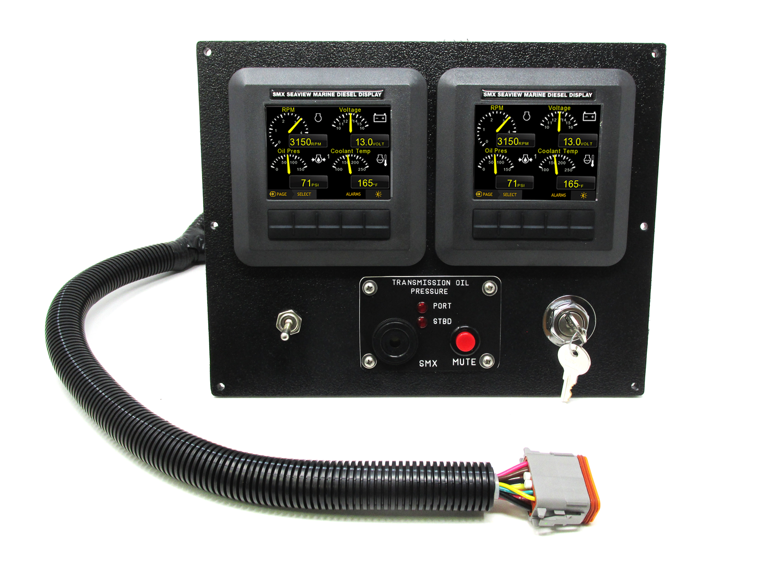 SMX Custom Digital Display Frame - with Gear Oil Pressure Alarms