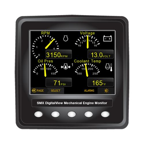 Smx Digitalview Mechanical Engine Digital Display