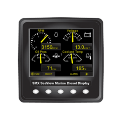 SMX SeaView J1939 Single Digital Display Kit