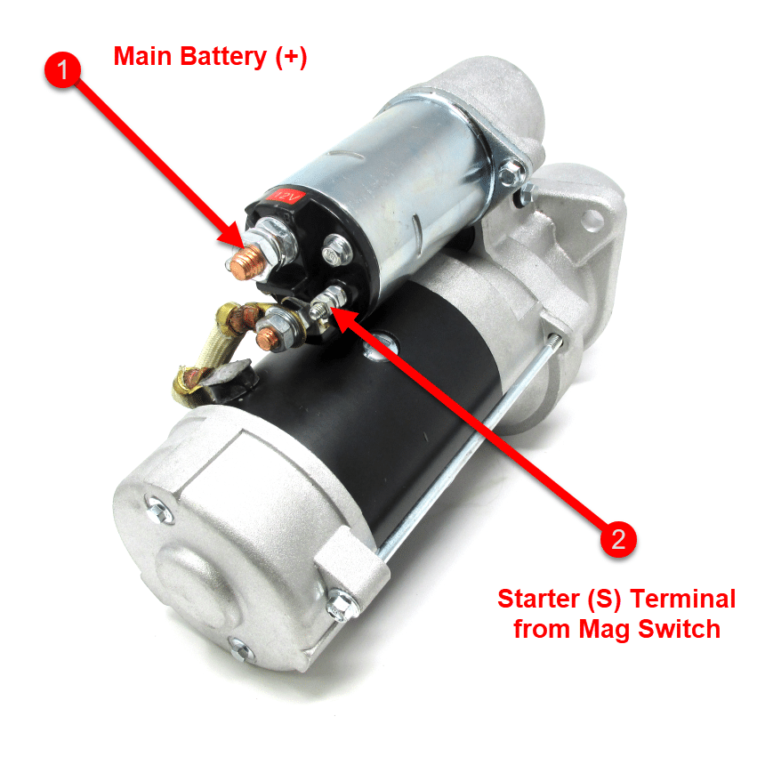 B Series 3-bolt Cummins Marine Starter