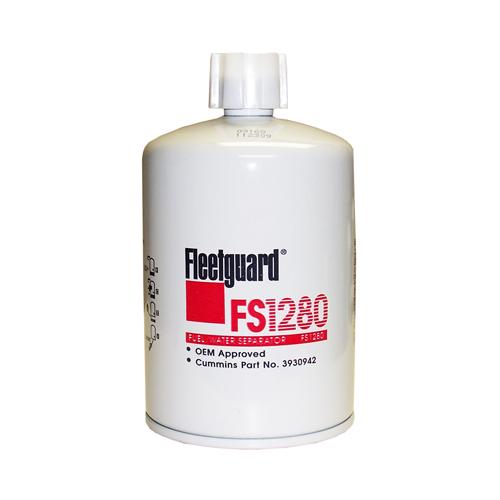 fleetguard fs1280 fuel filter w   drain