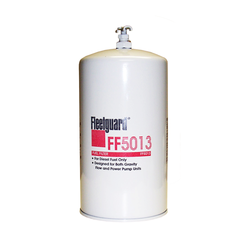 fleetguard ff5013 fuel filter w/ drain - seaboard marine  seaboard marine