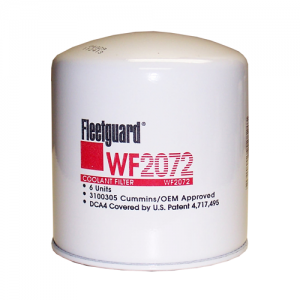 Fleetguard WF2072 Coolant / Water Filter