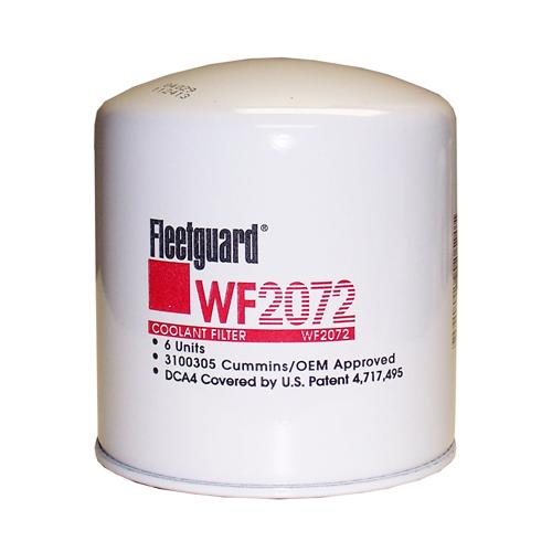 fleetguard wf2072 coolant    water filter