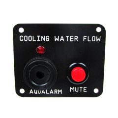 Engine Raw Water Flow Panel with Alarm Buzzer