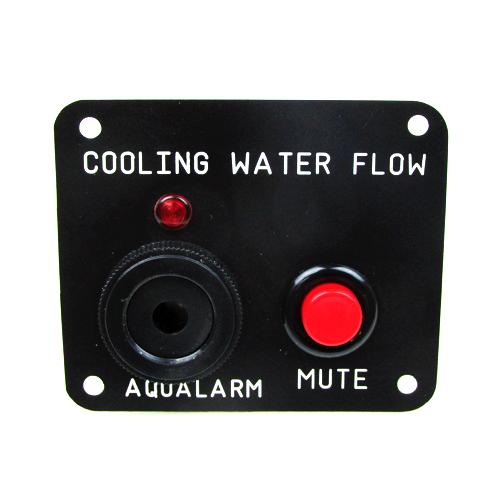 Engine Raw Water Flow Panel with Alarm Buzzer