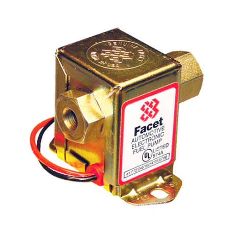Facet 12V 40109N Solid State Fuel Pump (1/2 GPM - 4-7 PSI)