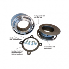 Custom Exhaust Flange Kit