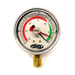SMX Drag Pointer Vacuum Gauge (Standard Bottom Mount)