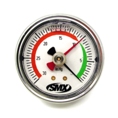 SMX Drag Pointer Vacuum Gauge (Rear Low Profile Mount)