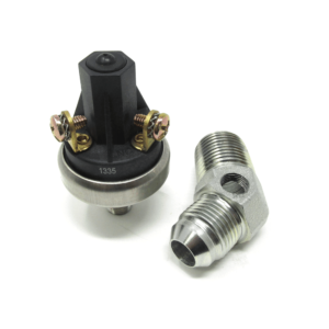 SMX Gear Low Oil Pressure Alarm Switch with Steel Fitting