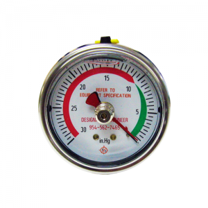 Vacuum Gauge (Standard Rear Mount)