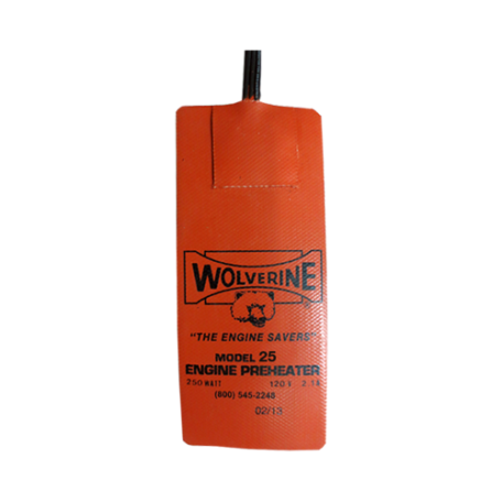 Wolverine Oil Pan Heater Model 25 250 Watts Seaboard