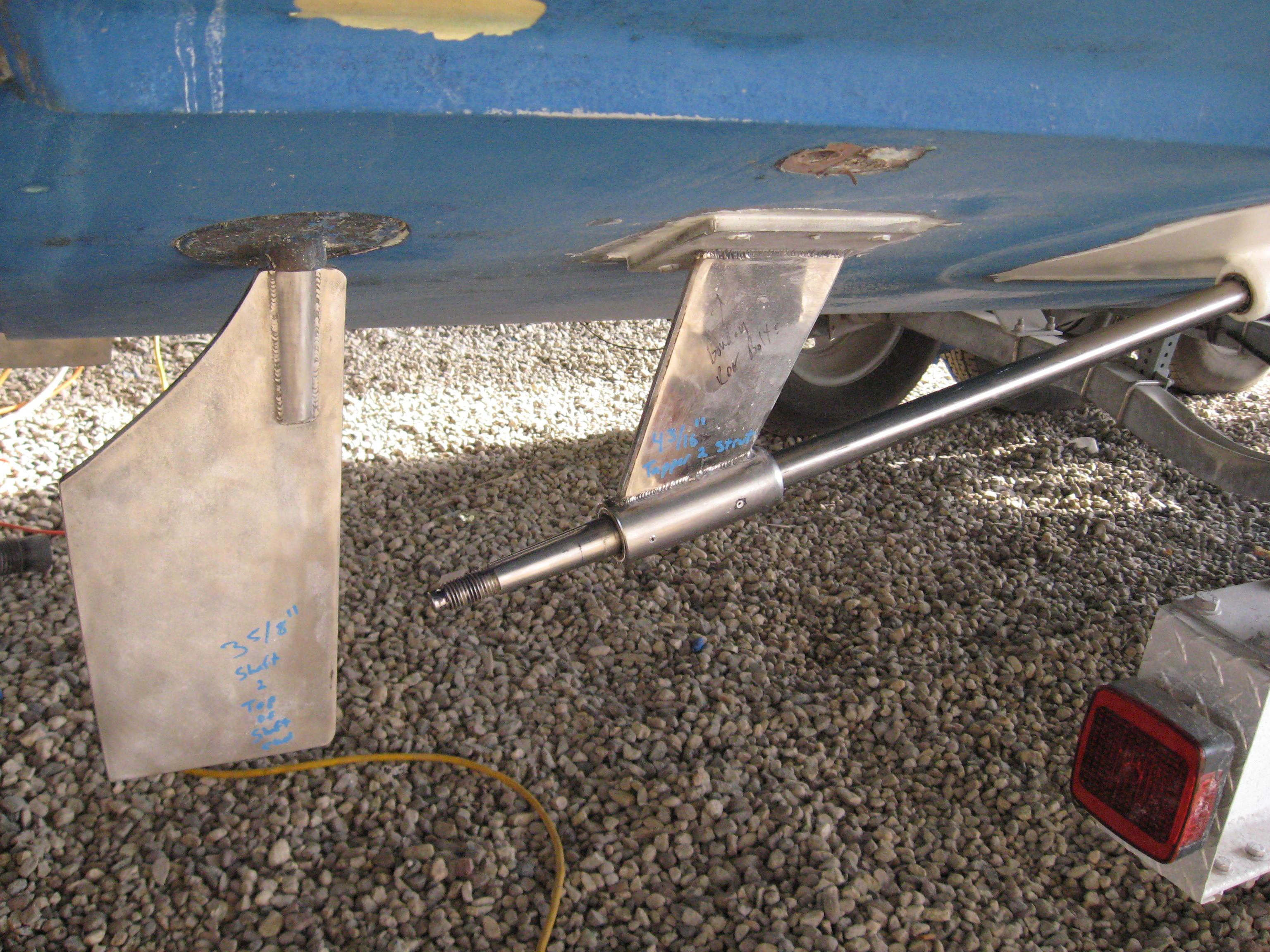 Boat Strut Bearing Replacement : Seaboard marine noelle mae restoration project