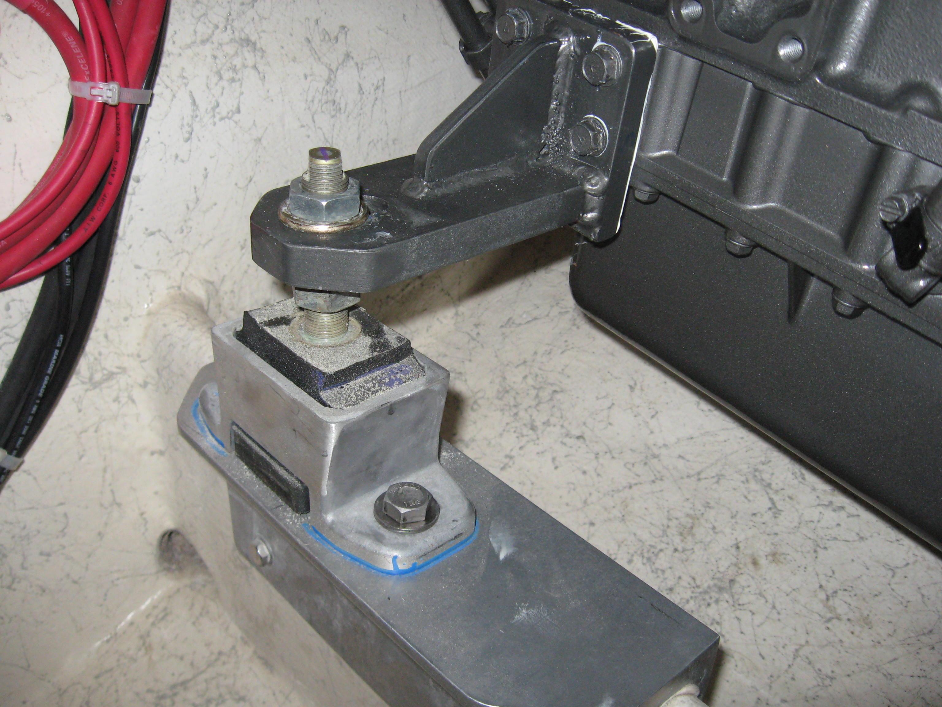 Inside Stringer Front Engine bracketing