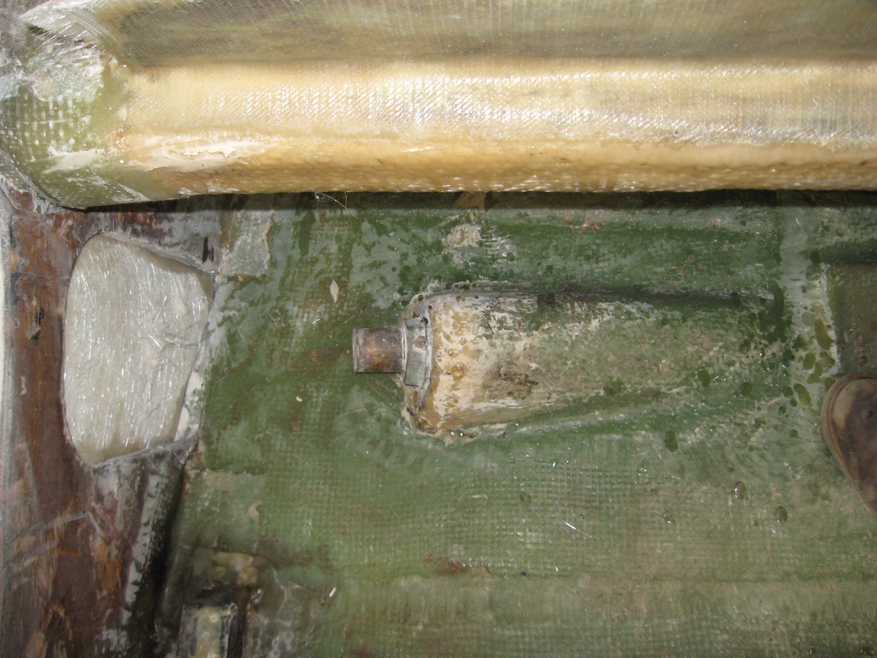 Old shaft log