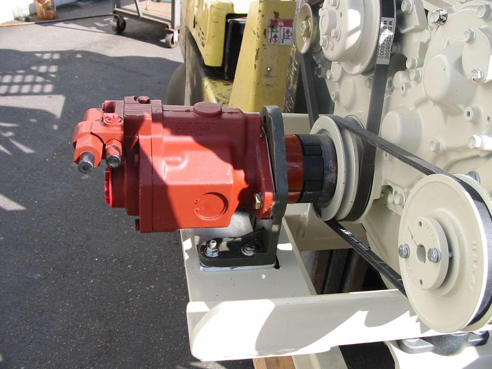 30 Kw Pressure Compinsated Pump