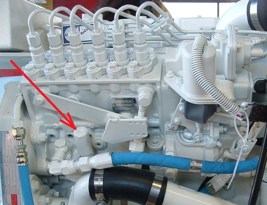 Cummins Marine 330b 370b Bosch Fuel Lift Pump Seaboard