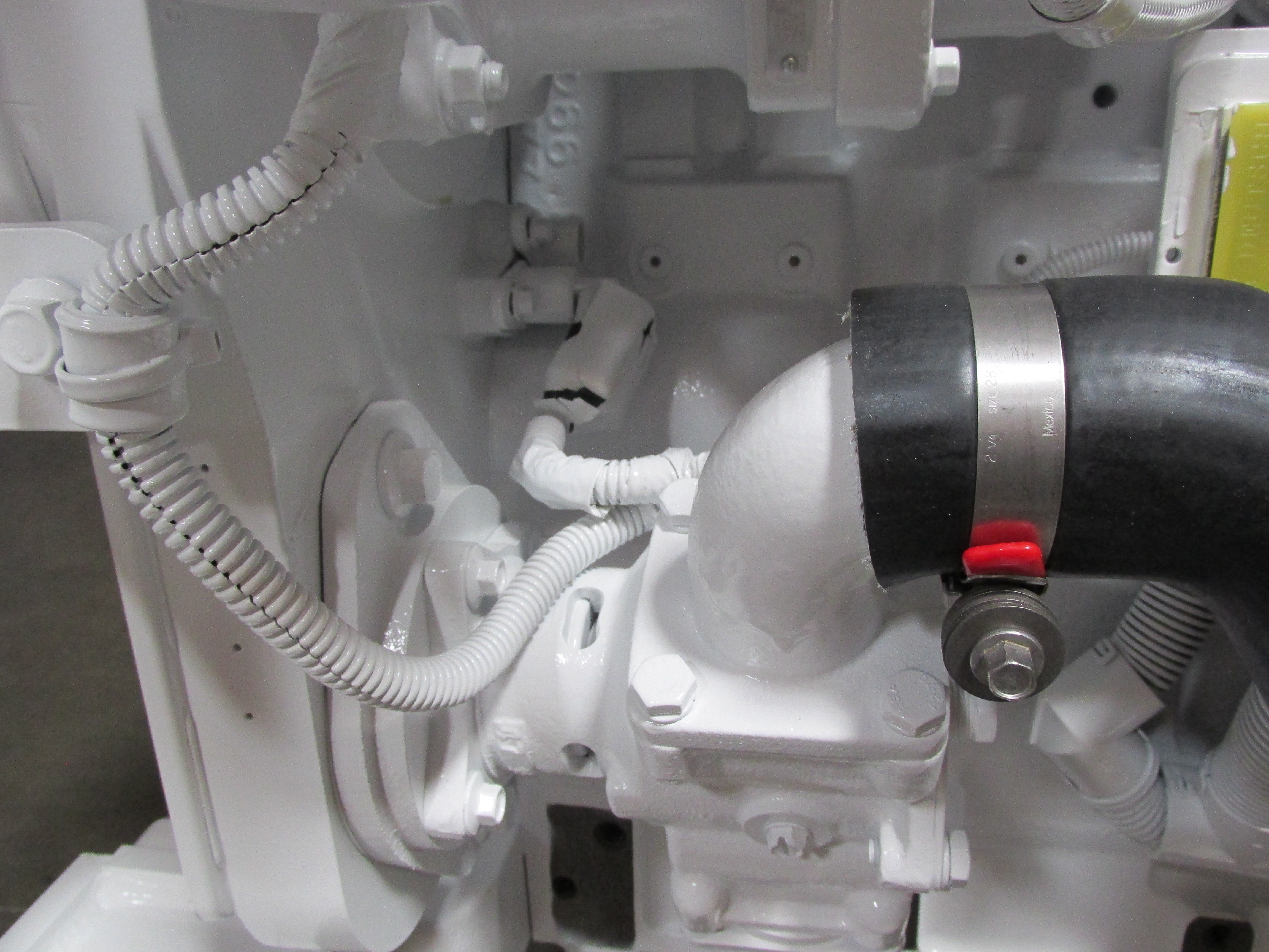QSL 9 Engine Camshaft Position Sensor (Behind the Seawater pump)