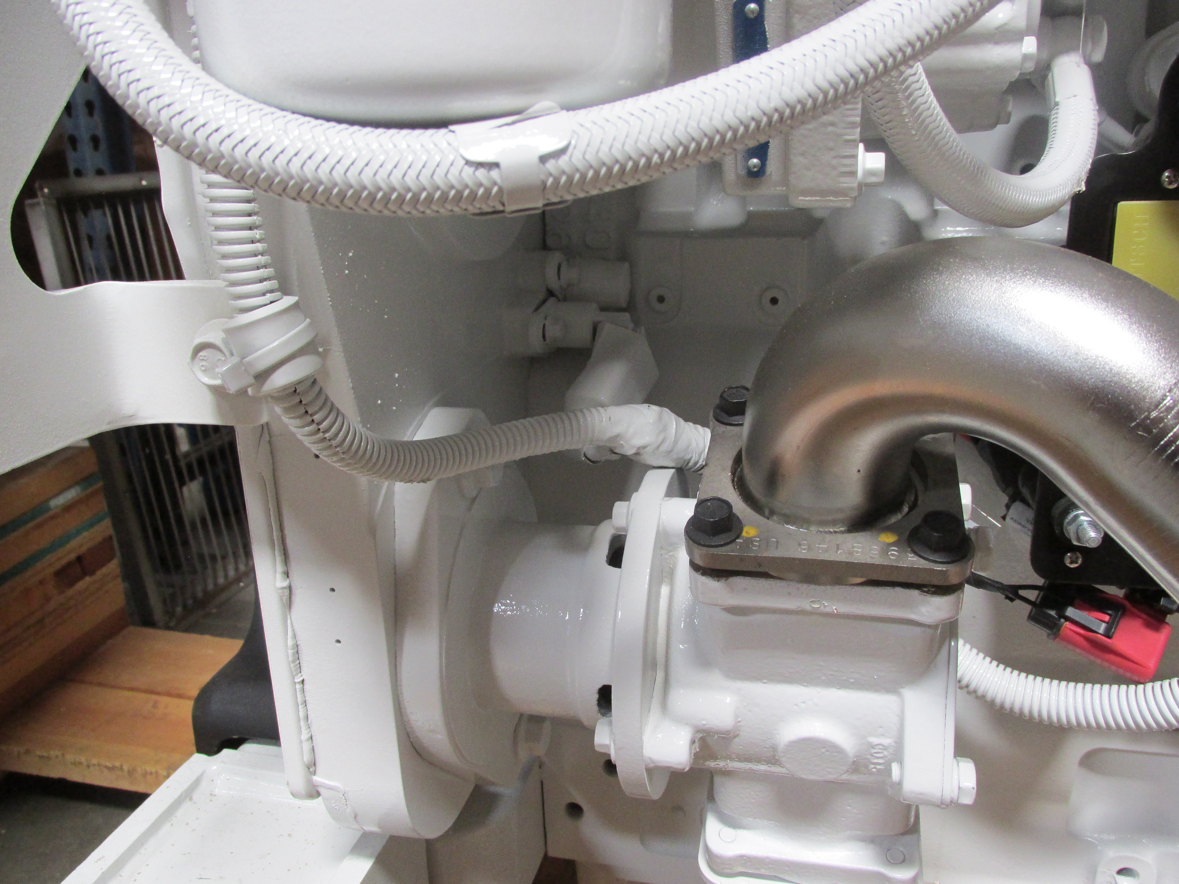 QSC 8.3 Engine Camshaft Position Sensor (Behind the Seawater Pump)