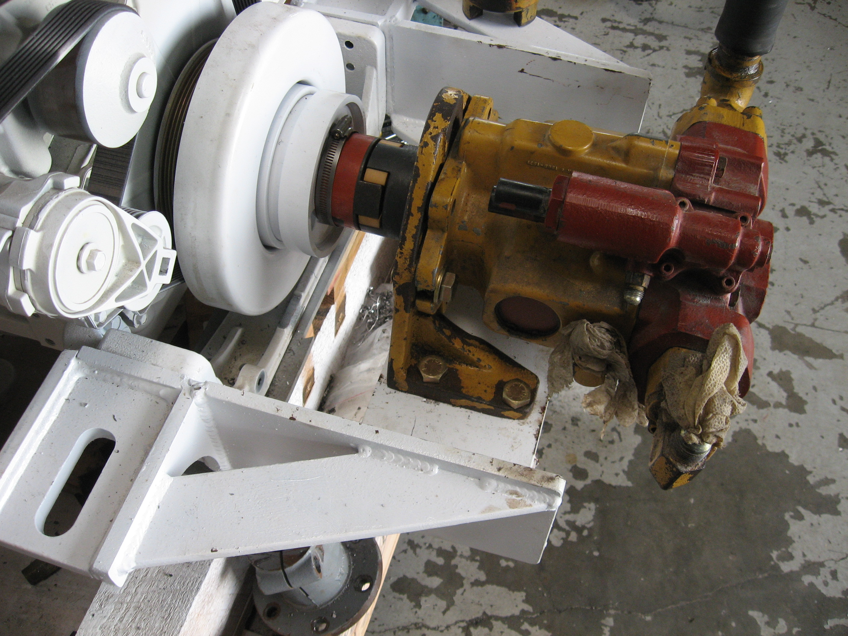 Front Mounted Hydraulic Pump : Cummins pto and other solutions seaboard marine