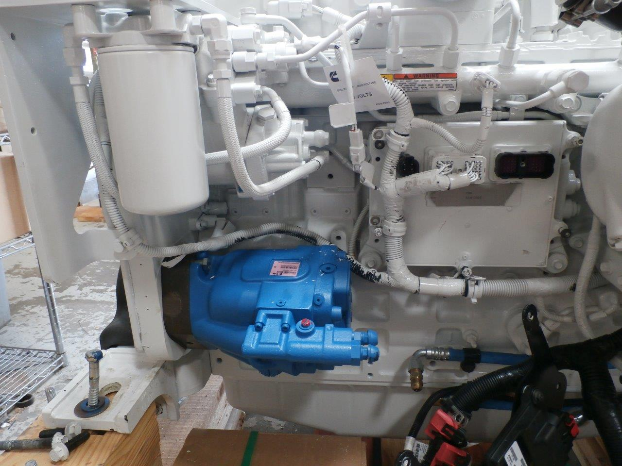 QSC with Big Hydraulic Pump