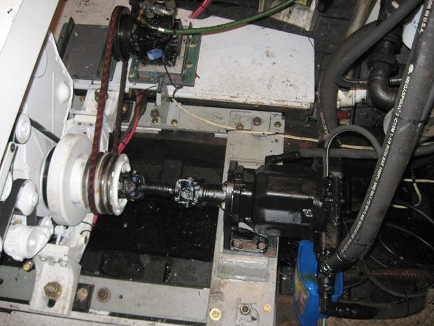 Driving A Hydraulic Pump Off Your Cummins 6cta 8 3 Engine