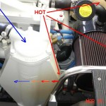 Aftercooler Discoloration from High Loads or Turbo Boost