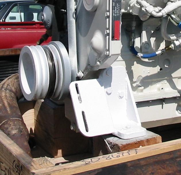 B  QSB Front Engine Brackets (3)