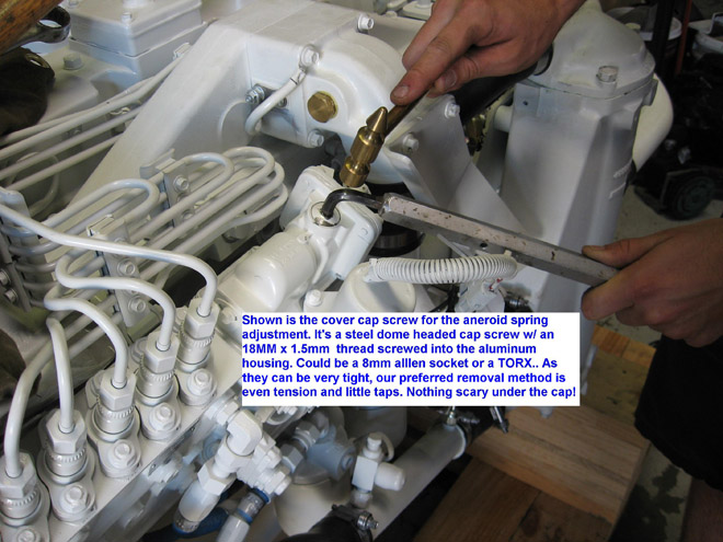 Aneroid Adjustment on the Bosch P7100 Injection Pump