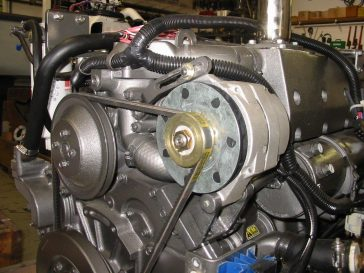 Delco 12SI Alternator Replacement on a Yanmar Marine Diesel