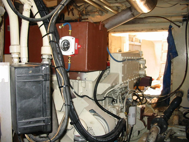 Custom Murphy Gauges  U0026 Low Coolant Alarm