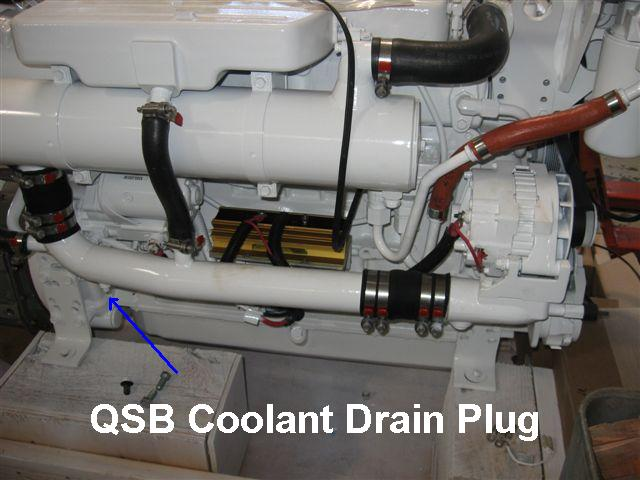 Cummins B Series Coolant Plumbing
