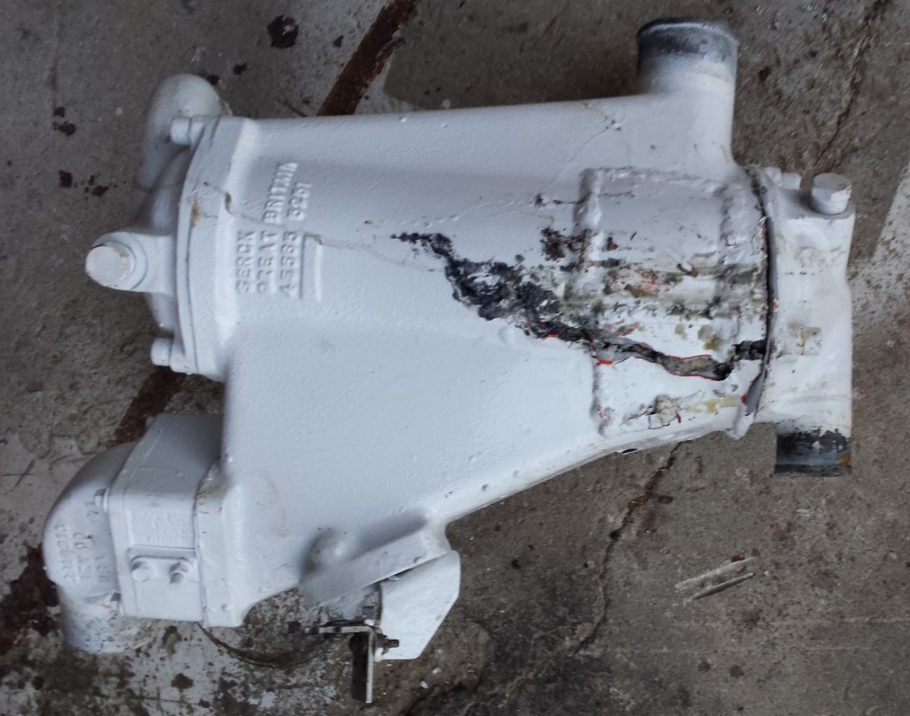 Repaired Aftercooler disaster (2)