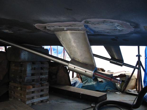 Custom Boat Amp Shaft Struts Seaboard Marine