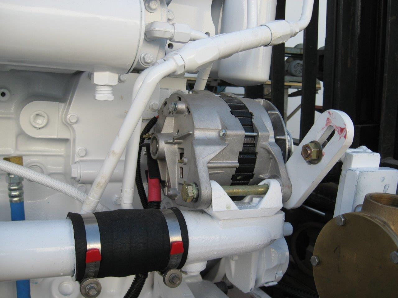 An example of a 21-22SI QSB Alternator