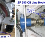 ZF 280 Oil Line Connections