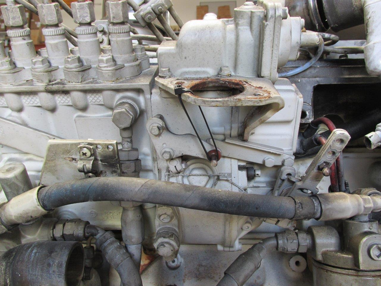 Bosch-Fuel-lever-tied-up-for-testing V Evinrude Outboard Wiring Diagram on