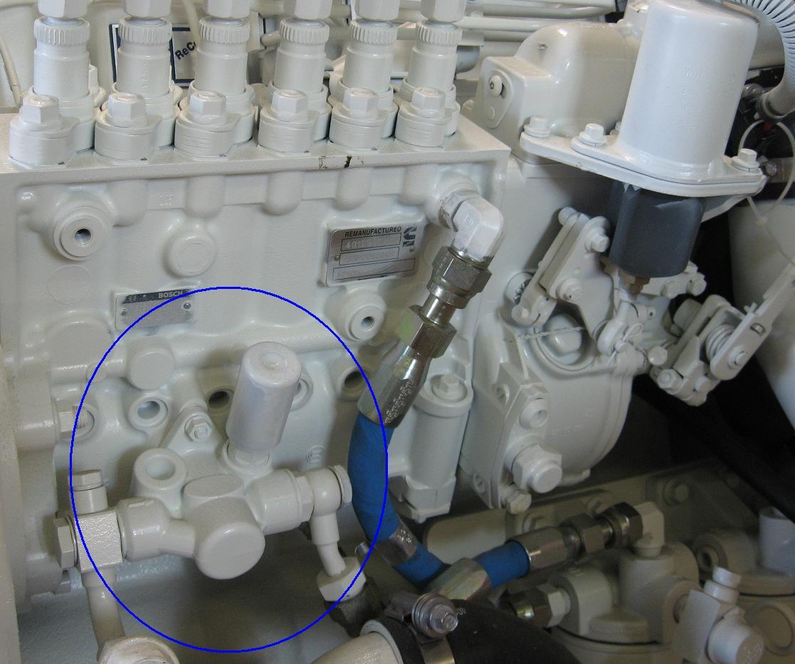 Identifying The Bosch Lift Pump On A 6cta 8 3 450 Diamond