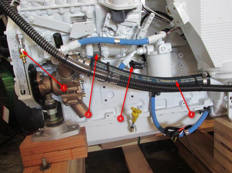 Cummins    Marine    Fuel Cooler Removal Kit  Seaboard    Marine