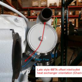 Identifying your 6BTA Heat Exchanger